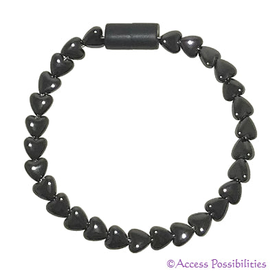 Heart Magnetite Magnetic Anklet | Access Possibilities