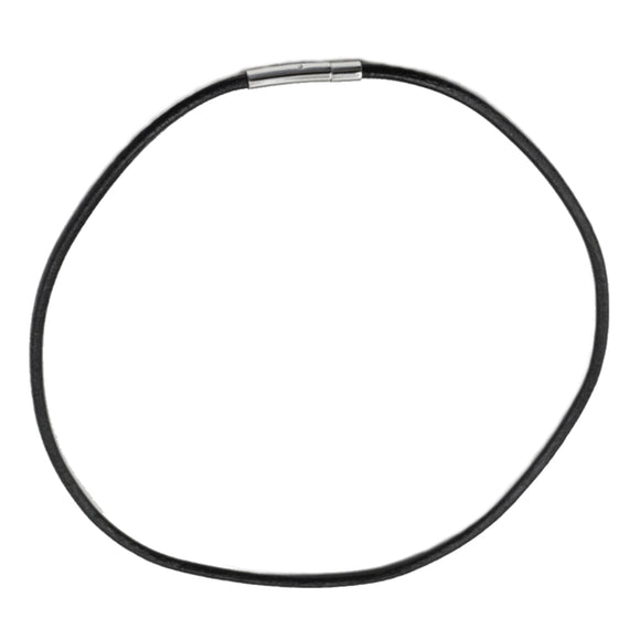 Black Leather Necklace Choker | Access Possibilities