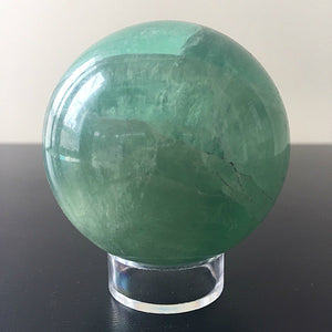 Fluorite Spheres With Stand