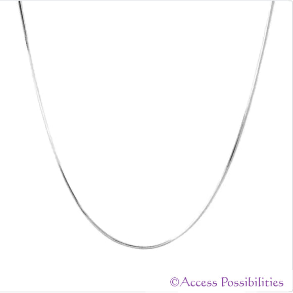 Sterling Silver Serpentine Snake Chain | Access Possibilities