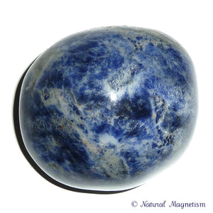 Sodalite Hand Polished Massage Therapy Stone