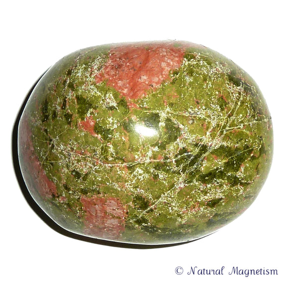 Unakite Hand Polished Massage Therapy Stone