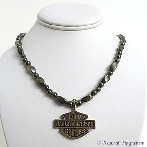 Harley Davidson Magnetite Magnetic Necklace