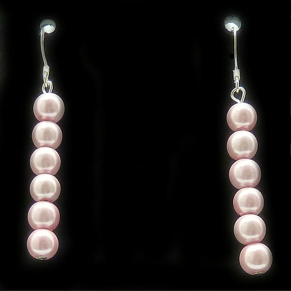 Pink Pearl Magnetite Magnetic Earrings | Access Possibilities