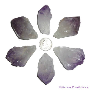 Amethyst Raw Crystal Points