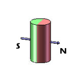 Side Cylinder Rare Earth Neodymium Magnets - Diametrically Magnetized