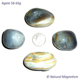 Agate Tumbled Stones 56-65 grams