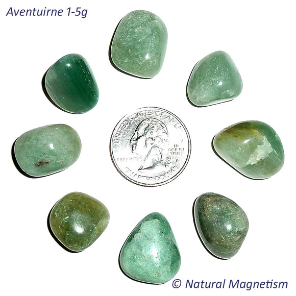 Small Aventurine Tumbled Stones From Africa