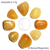 Medium Azeztulite Tumbled Stones From India