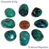 Large Chrysocolla Tumbled Stones From Peru