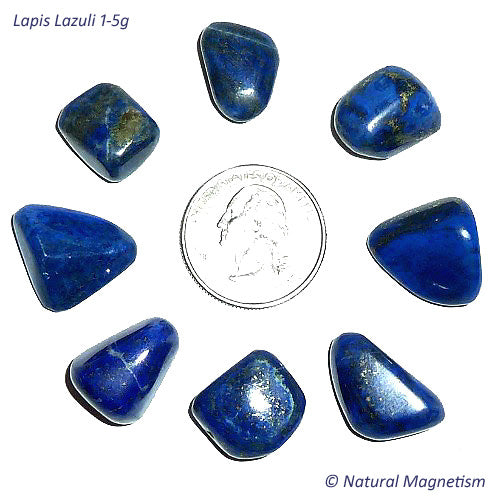 Small Lapis Lazuli Tumbled Stones From Russia