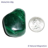 Malachite Tumbled Stones From Africa 68 grams
