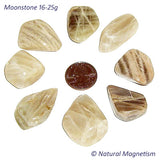 Large Moonstone Tumbled Stones From India
