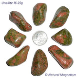 Large Unakite Tumbled Stones From Africa