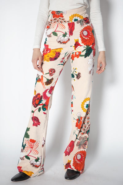 Francoise Winter Garden Velvet Pants