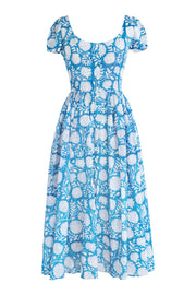 Muse Lapis Floral Dress