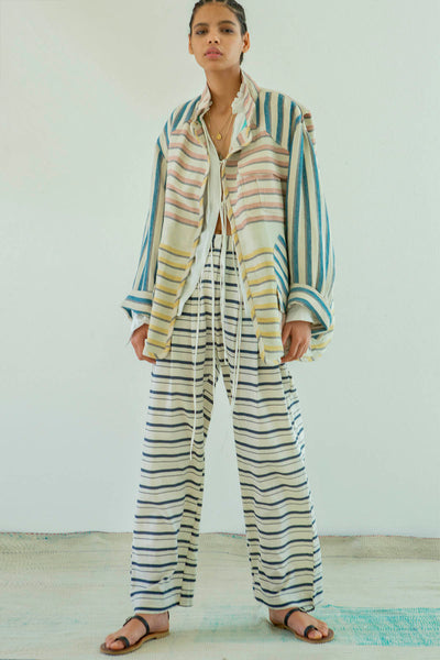 Mariner Stripe Coat