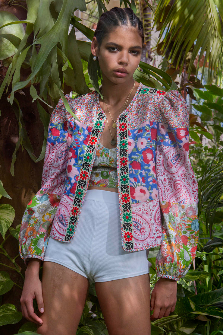 Pasha Patchwork Jacket