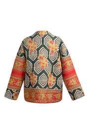 One Of A Kind Momo Kantha Jacket - Medium