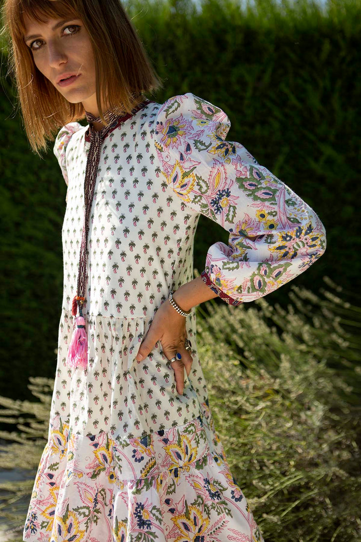 Annabel Patchwork Dress
