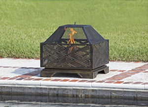 Catalano Square Fire Pit                                       F62239 - PATIO AND FIREPLACE CONCEPTS