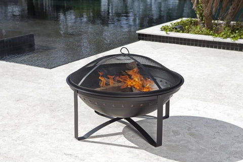Highland Wood Burning Fire Pit                                                       F62332 - PATIO AND FIREPLACE CONCEPTS