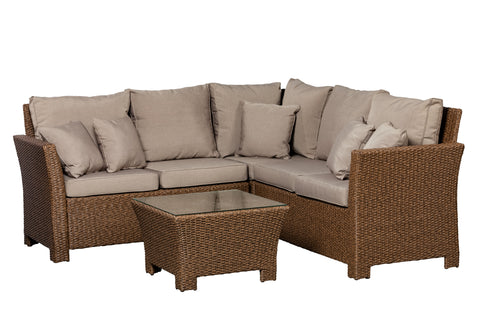 Jarrett Wicker Sectional Set                F62540 - PATIO AND FIREPLACE CONCEPTS
