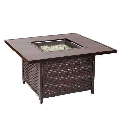 Baker Aluminum LPG Fire Pit                                           F62573 - PATIO AND FIREPLACE CONCEPTS