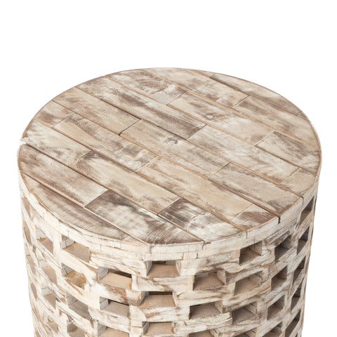 Parker Round Garden Stool            F62978 - PATIO AND FIREPLACE CONCEPTS
