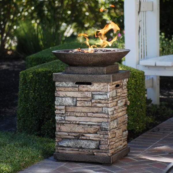 Newcastle 20 lb. Gas Firebowl                                         B63172 - PATIO AND FIREPLACE CONCEPTS