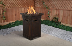 Sonoma Gas  Fire Column - PATIO AND FIREPLACE CONCEPTS