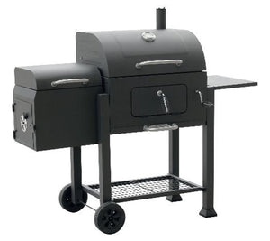 VISTA CHARCOAL GRILL WITH OFFSET SMOKER    L560202 - PATIO AND FIREPLACE CONCEPTS