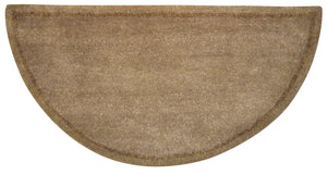 BEIGE HAND-TUFTED 100% WOOL HEARTH RUG      R-1000 - PATIO AND FIREPLACE CONCEPTS