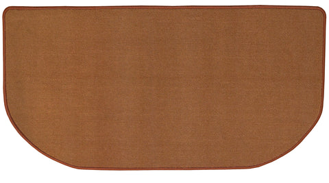 SAND COLORED NYLON HEARTH RUG    R-3010 - PATIO AND FIREPLACE CONCEPTS