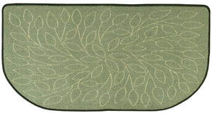 SAGE COLORED NYLON HEARTH RUG    R-3040 - PATIO AND FIREPLACE CONCEPTS