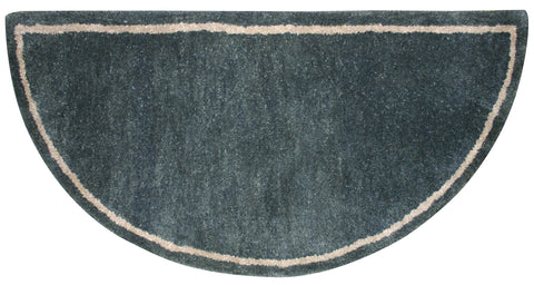 FOREST GREEN HAND-TUFTED 100% WOOL HEARTH RUG              R-5000 - PATIO AND FIREPLACE CONCEPTS