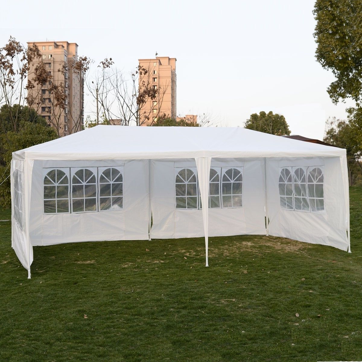 Goplus Outdoor 10 'X20 'Party Wedding Tent - PATIO AND FIREPLACE CONCEPTS