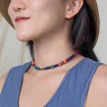 Load image into Gallery viewer, Handmade Beaded Choker