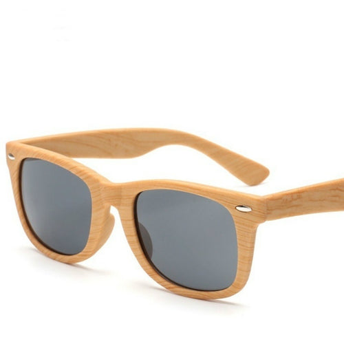 Retro Bamboo Sunglasses Men Outdoor Wood Sun Glasses Male  Faux wood glasses   LZB061201/w053