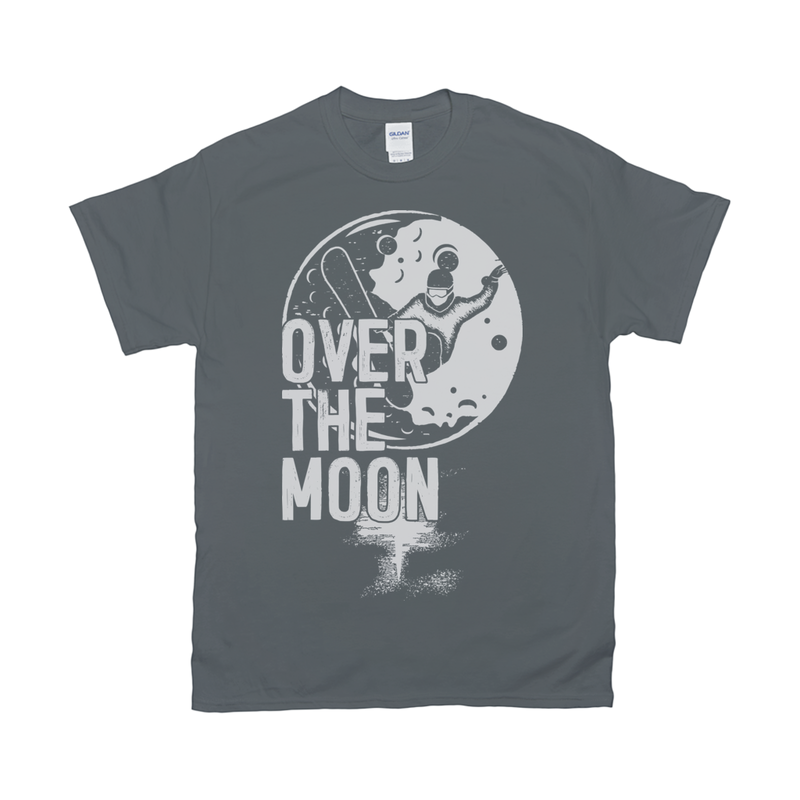Over The Moon Retro Tee