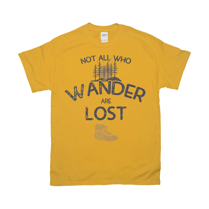 Not All Who Wander Retro Tee