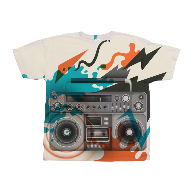 Retro Radio Abstract Tee