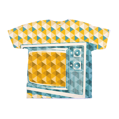 Retro TV Abstract Tee
