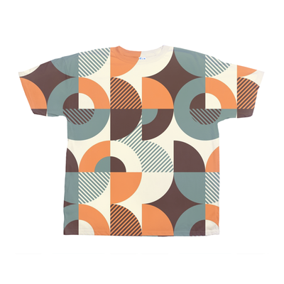 Abstract Retro Tee