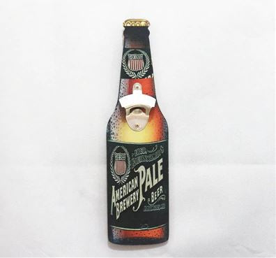 American Brewery Pale Bottle Opener Decor