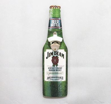 Jim Beam Bottle Opener Decor