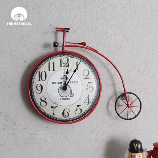 Penny Farthing Bycicle Clock