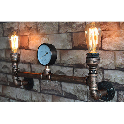 Double Water Pipe Light
