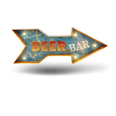Beer Bar LED Sign