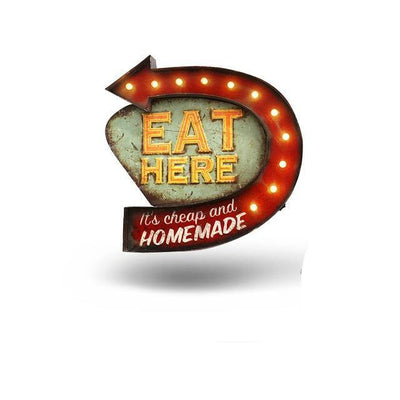 Eat Here LED Sign